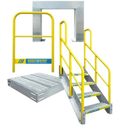 erectastep modular crossover platform